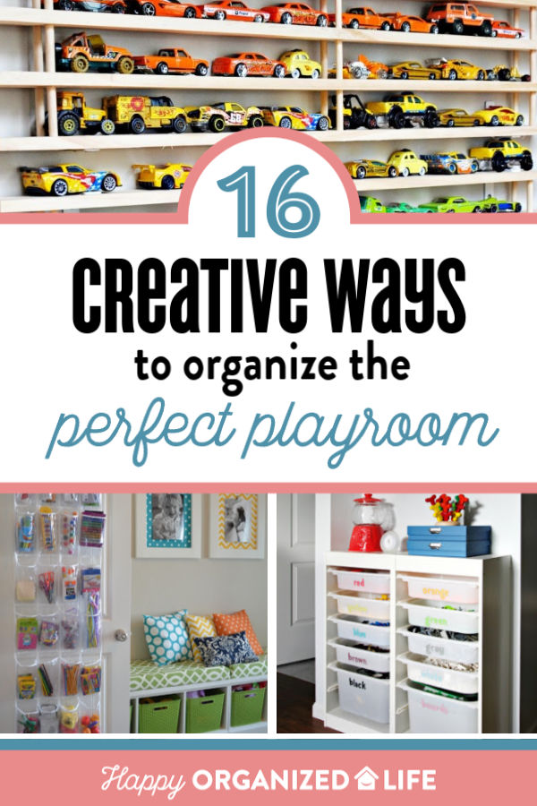 16 creative ways to organize the perfect playroom