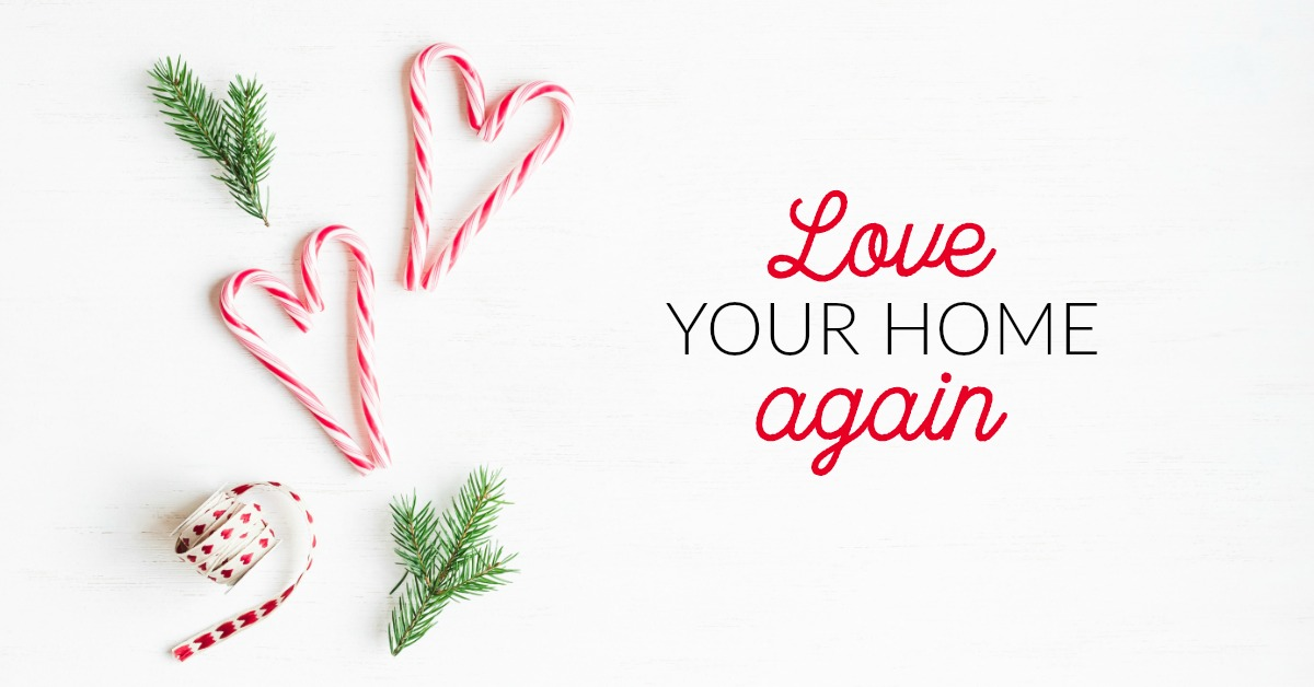 Join us for the Holiday Decluttering Challenge and start loving your home again!