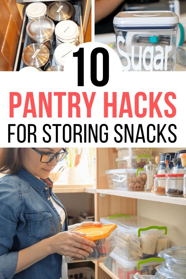 Simple Pantry Organization Hacks